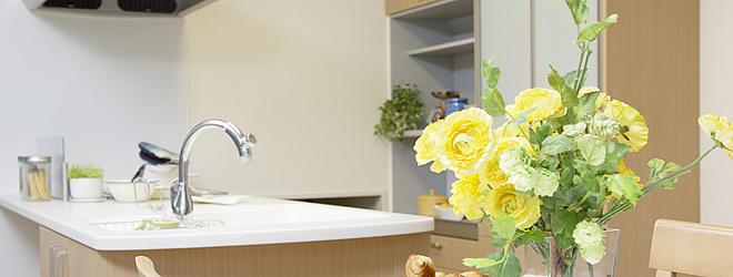 キッチンのクリーニング、換気扇分解清掃